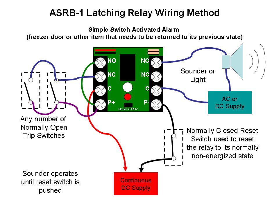 Latching Relay Circuit Diagram On Latching Relay Wiring Diagram