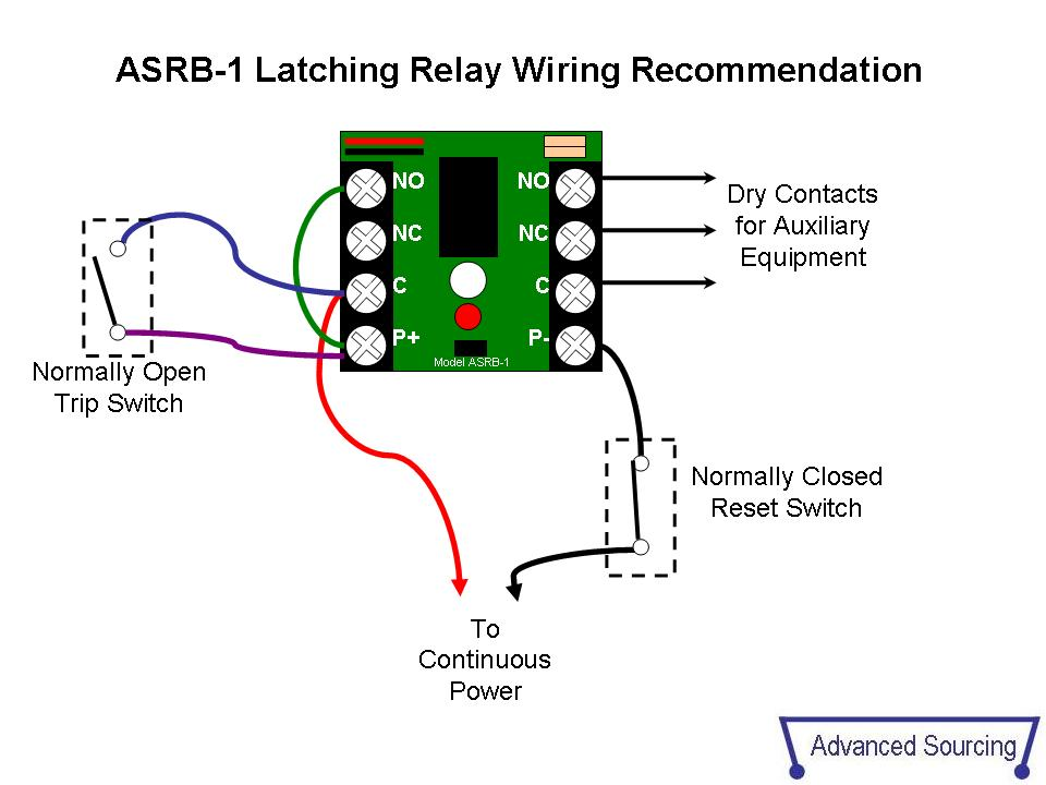 asrb 1 technical documents starter solenoid wiring diagram latching relay  wiring diagram